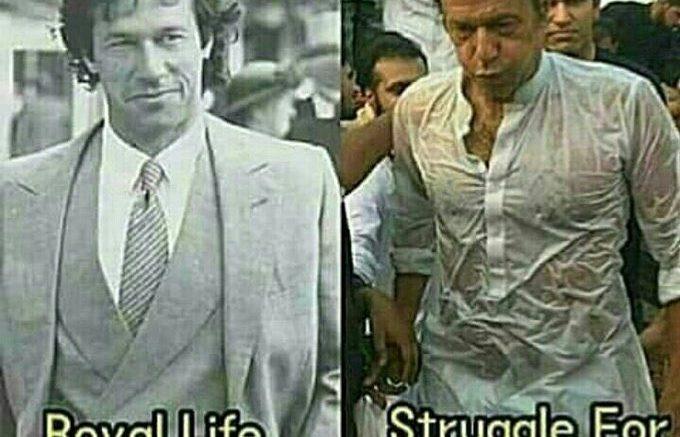 میرا جنون عمران خان