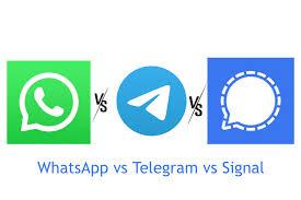 Signal app vs Whatsapp vs Telegram in Pakistan