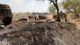 Over 50 houses gutted in Thar, Badin