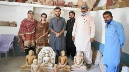 Six Idols of the Ancient Sacred Deities Moved in Thar