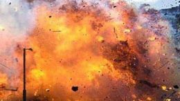 Huge blast at Hafiz Saeed's residence in Lahore