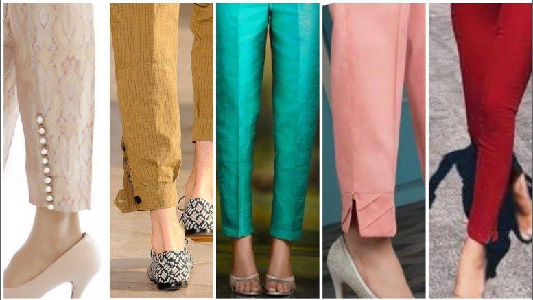 巴基斯坦最新和更新的香烟裤设计