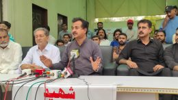 Haleem Adil demands the killers of Azhar Arain
