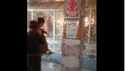 Bhong Mandir Attack Video in Pakistan