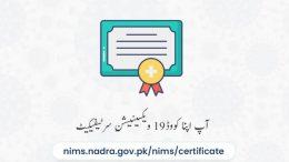 covid certificate nadra