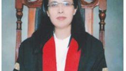 profile and bio of justice ayesha malik