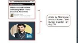 who is hamza afridi and om prakash mishra
